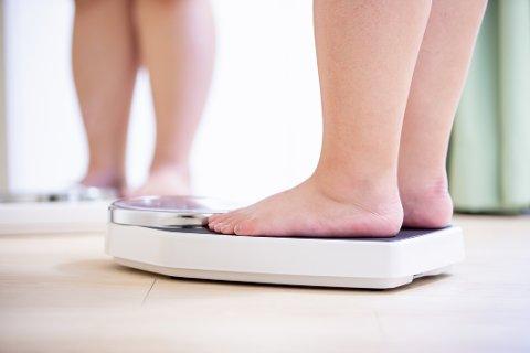 NED I VEKT: Bare litt vektnedgang kan gi helsegevinst, og forskerne påpeker at dette også gjelder eldre med fedme.