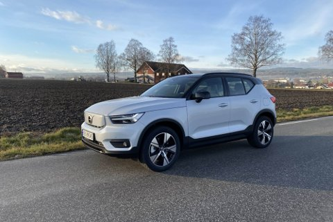 Snart kommer flere konkurrenter med elektrisk familie-SUV. Men Volvo har et lite forsprang...