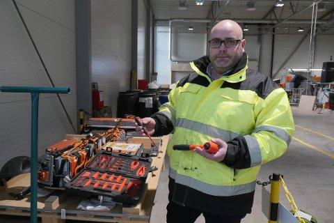 Batteriretur skal være operatør for det nye resirkuleringsanlegget Hydro Volt bygger hos Batteriretur. Daglig leder Fredrik Andresen forteller at de snart skal fatte den endelige investeringsbeslutningen og regner med å starte produksjonen i slutten av 2021.