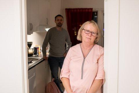 FØLER SEG SVIKTET: May Britt Saltnes er fortvilet etter beskjeden hun mottok fra broren sin nylig.