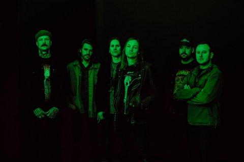 KOMMER TIL FREDRIKSTAD: Kvelertak slipper fredag nytt studioalbum.  «Splid»  er en oppfølging av suksessalbumet «Nattesferd» som ble utgitt i 2016.