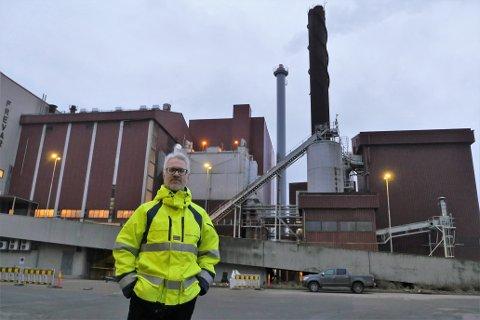 Godt totalresultat i 2019: Frevar-direktør Fredrik Hellström leverer et resultat med et solid overskudd for næringsdelen av selskapet, men forbrenningsanlegget gikk rundt 2,4 millioner i minus. (Foto: Øivind Lågbu)