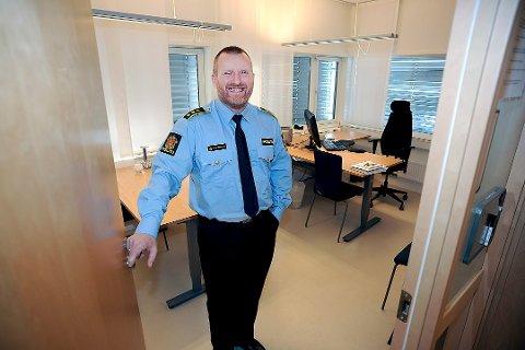 BLIR NY SJEF: Ivar Prestbakken (56) blir ny politistasjonssjef i Fredrikstad. – Det blir godt å komme hjem, sier han.