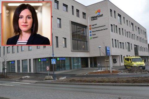 STORT TRYKK: Både legevakten og Fredrikstad kommune opplever mange forespørsler i forbindelse med koronaviruset om dagen. Fire personer er så langt testet. Innfelt er kommuneoverlege Berit Løkken Finess.