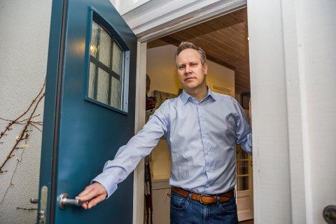 IKKE VELKOMMEN NÅ: Ordfører Jon-Ivar Nygård ber alle hytteeiere og eventuelle andre turister i Fredrikstad om å reise hjem til egen kommune.