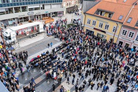 Får støtte også i år: LO i Fredrikstad fikk 30.000 kroner, det ble en svært kort debatt i år. (Arkivfoto: FB)