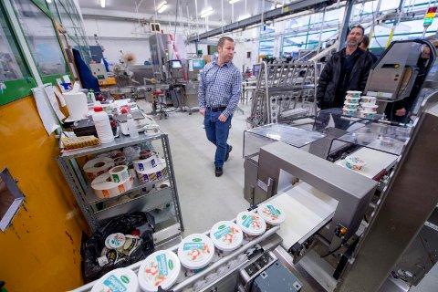 SER ETTER  HJELP: Salatmester'n på Ørebekk var en av bedriftene som tirsdag var på jakt etter midlertidig arbeidshjelp. NAV melder at næringsmiddelproduksjon er blant næringene hvor det er behov for arbeidskraft nå.