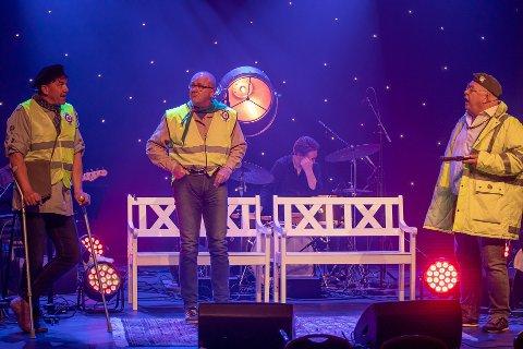 """SUKSESS: """"Fredrikstadguttane"""" var blant artistene som sto på scenen under """"Kultur mot virus""""-arrangementet onsdag kveld."""