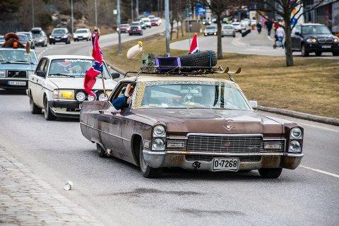 Den store folkevandringen til Strömstad er avlyst på grunn av koronasituasjonen. Politiet i byen melder om den roligste påsken på mange, mange år.