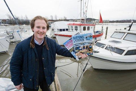 BLIR DIGITAL: Vetle Børresen lanserer en rekke digitale båtrelaterte løsninger under Båtens verden-paraplyen.