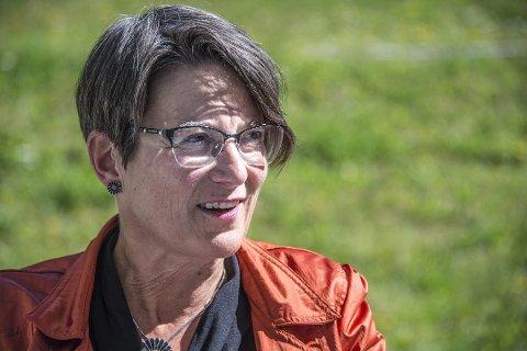 Fornøyd: Skolesjef Marit Mundahl gleder seg over at mange har lyst til å bli rektor på Slevik skole. Fristen for  å søke på stillingen gikk ut mandag 8. juni.