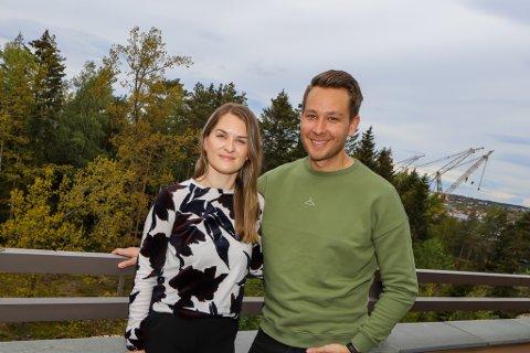 GLEDENS DAG: Det har vært mye usikkerhet for Elin Ugland Moland og Kristoffer Andreassen – kunne de gifte seg som planlagt? Nå har de fått beskjed om at det går, og krysser fingre for at det ikke blir strengere restriksjoner innen 20. juni.