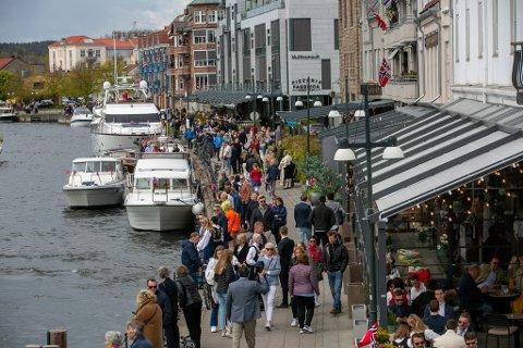 Vi ble 808 flere mennesker i Fredrikstad i 2020, og nå har vi passert 83.000 innbyggere.