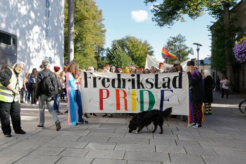I fjor. Fredrikstad Pride fikk 15.000 kroner i støtte til rusfri fest.