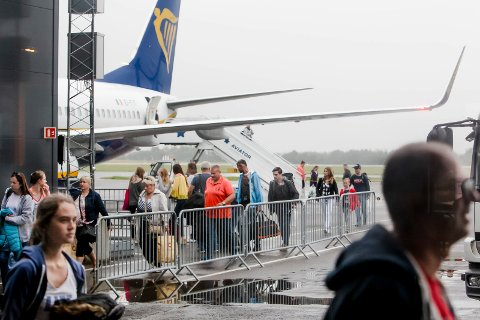 ØNSKER Å FÅ AVINOR PÅ BANEN: Moss Lufthavn Rygge ble lagt ned 1. oktober 2016. Nå gjør Viker-politikere fra regjeringspartiene et nytt forsøk på å få Avinor til å engasjere seg.