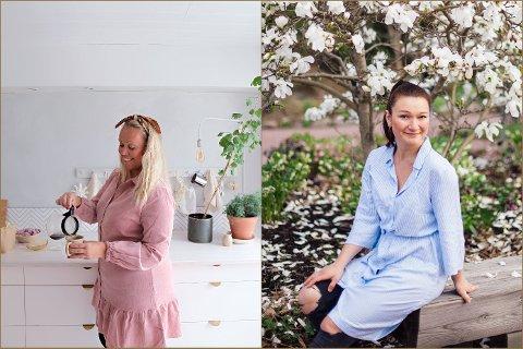 Råde-jentene Ann-Helen Lunde (til venstre) og Solveig Grøvle har oppdragsgivere som Bonytt, Elle Decoration, Jorun, Ikea og Plantasjen.