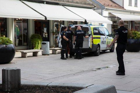 Mannen ble pågrepet av politiet mandag ettermiddag.