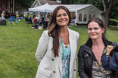 Kunstnerisk ansvarlig Ingrid Kindem og prosjektleder Christel Forsberg gleder seg til Sail-in konserter under Hankøfestivalen.