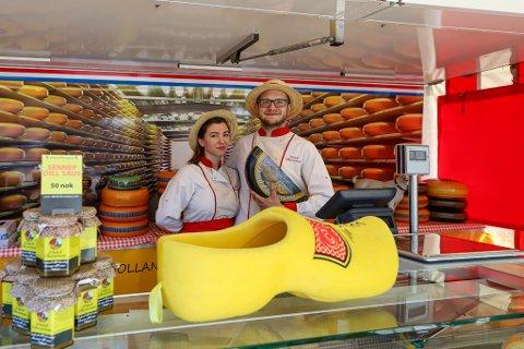 Landet rundt: Dutch Cheeseman er én av de 17 matvognene på food truck-festivalen.
