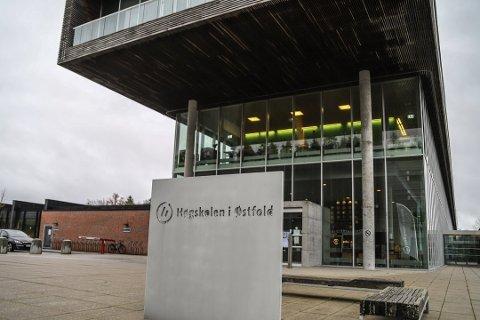 Ikke velkomne: Nærmere 330 studenter fra Indre Østfold er ikke velkomne til Høyskolen i Østfold.