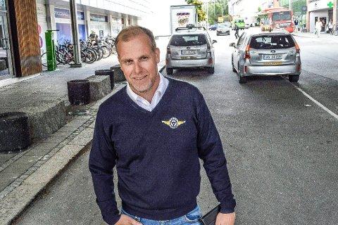 Daglig leder av Taxisentralen AS, Stian Enghaug, er godt fornøyd med 2019 året som det beste året noensinne for sentralen.
