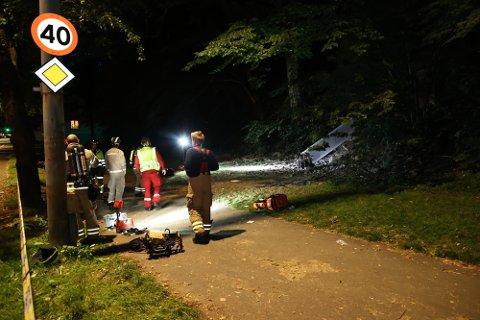 Sju personer ble sendt sykehus etter at de trolig ble kullosforgiftet på en fest i en bunkers på St. Hanshaugen i Oslo natt til søndag.