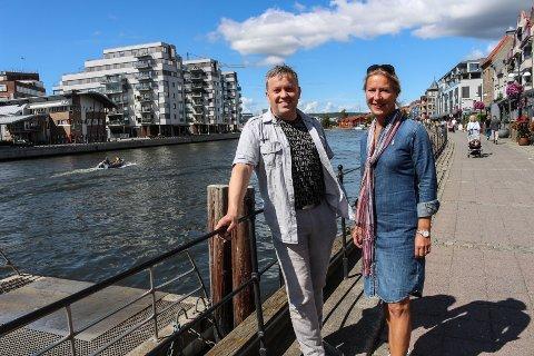 Musiker Pål Johannessen og Anne Cedervall i Opplev Hvaler arrangerer konsert i Brottet og varmer opp med å slippe fem splitter nye musikkvideoer fra Fredrikstad-distriktet.
