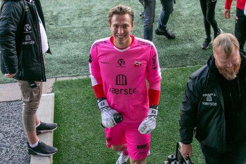 Håvar Jenssen har levert stabilt spill gjennom hele sesongen, og har all mulig grunn til å smile. Nå starter sluttspillet for FFKs del.