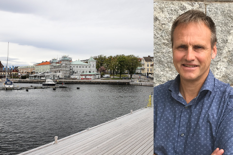 Strömstads kommunalråd, ordfører på norsk, Kent Hansson forteller om en kommune som sliter voldsomt.