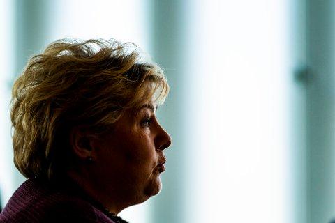 Erna Solberg er klar på at Norge kommer til å holde fast ved dagens karantenesystem. Foto: Håkon Mosvold Larsen / NTB