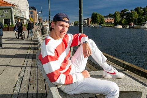 Stian Nybraaten Hansen ser frem til seriestart lørdag.