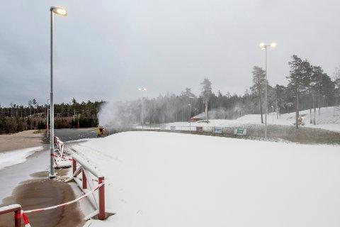 Førstkommende mandag er det meningen at Fredrikstad Skiarena skal åpne.