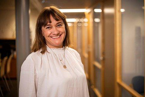 Kommuneoverlege Anne Kristine Nitter håper flere vil teste seg, nå som det blir gratis å hente hurtigtest.
