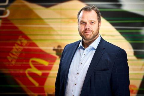Børre Kleivan er ferdig som øverste leder i McDonald's Norge.
