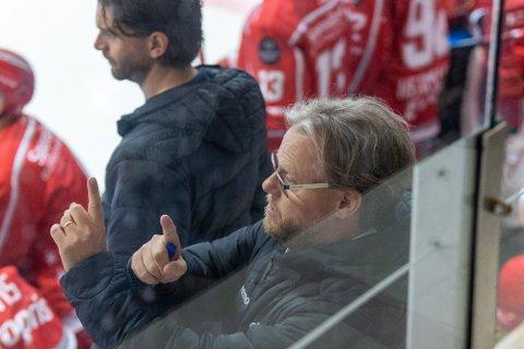 Stjernen og Anders Olsson innkasserte en ny seier på torsdag. Denne gang på bortebane mot Frisk Asker.
