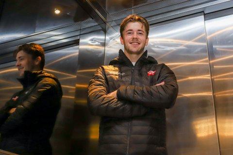 Philip Aukland har kun tapt to kamper som FFK-spiller. Kommende sesong konkurrerer han med Alexander Betten Hansen om en plass på FFKs høyreback.