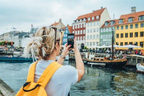 Arkivbilde fra Nyhavn.
