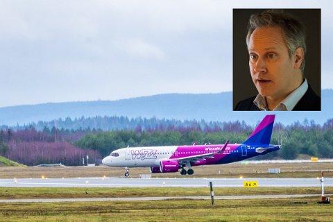Ordfører Jon-Ivar Nygård (Ap) ber formannskapet gjøre et vedtak som vil føre til at ingen kommuneansatte får bruke Wizz Air hvis selskapet ikke respekterer retten til å organisere seg.
