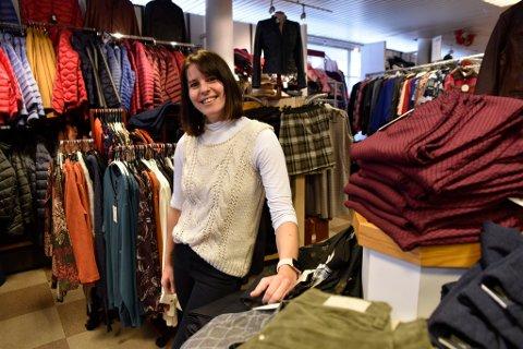 Una Talakic Nymoen ga bort et helt varelager med klær til en salgsverdi på 1,5 millioner kroner.