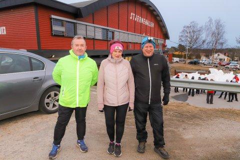 Erik Andersen, Merete Andersen og Reidar Olsen deltar alle på Stjernen Aktiv.
