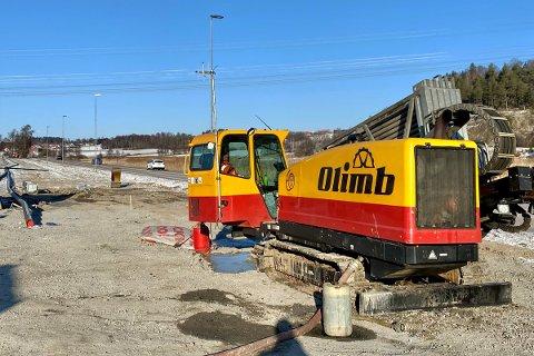 Olimb Anlegg er godt i gang med oppgraderingen av vann- og avløpsanlegget i Råde.