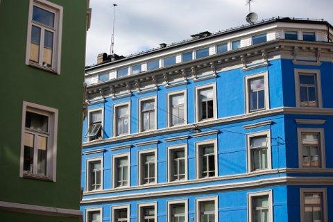 FULL FART: Boligprisene i Norge, og Oslo spesielt, har gått fullstendig i taket.