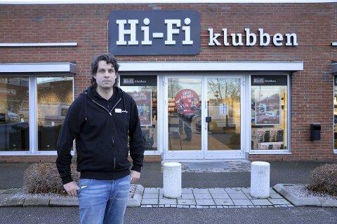 Marius Lindh driver HIFI Klubben på Tunejordet.