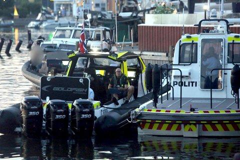 Båtturen endte i Son, der mannen fra Drøbak og en annen forsøkte å stikke av i en taxi.