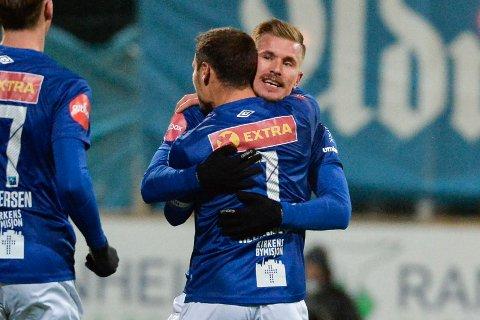 Erik Tønne leverer målpoeng i bøtter og spann for Ranheim.