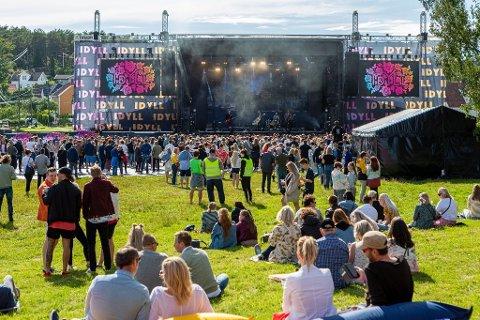 Over 20.000 mennesker tok turen innom Idyllfestivalen i 2019.