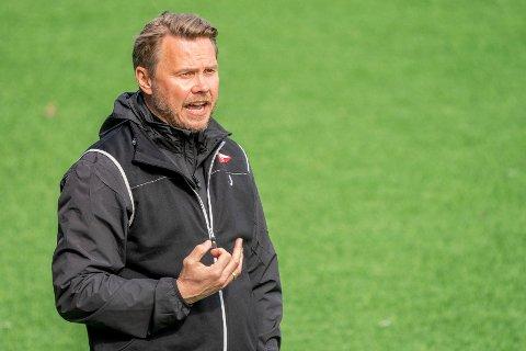 Bjørn Johansen konstaterer at FFK er med for fullt når OBOS-ligaen tar pause i 14 dager.