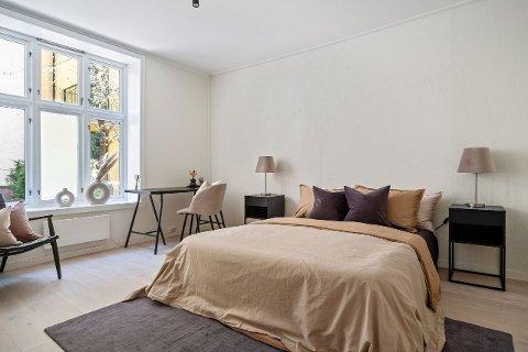 Dette rommet og en fjerdedel av fellesarealene kan bli ditt – for hele 2 millioner kroner.