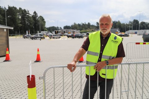 – Fem positive koronatester kan høres lite ut. Men det kunne ha gitt fem utbrudd om de ikke hadde blitt testet på grensen, sier Jostein Stø. Han er leder av Svinesund internasjonale testsenter.