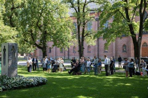 Minnemarkeringen i Lykkebergparken finner sted klokken 11.55 på torsdag.